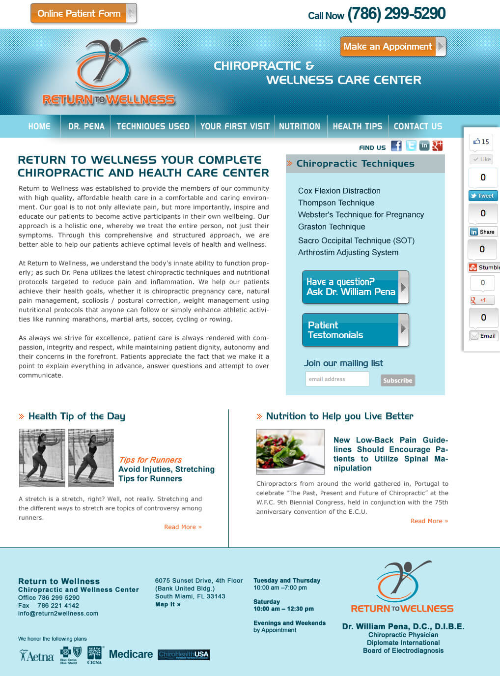 Chiropractor-Web-Site-Design-Miami