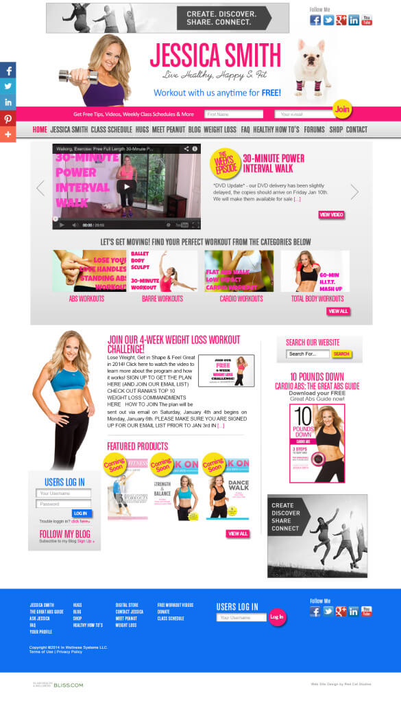 Fitness-Web-Design-WordPress-Miami-585x1024