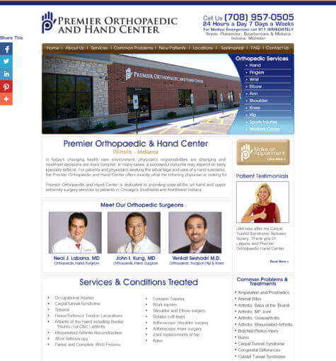 Premier Hand Orthopedics & Hand Center