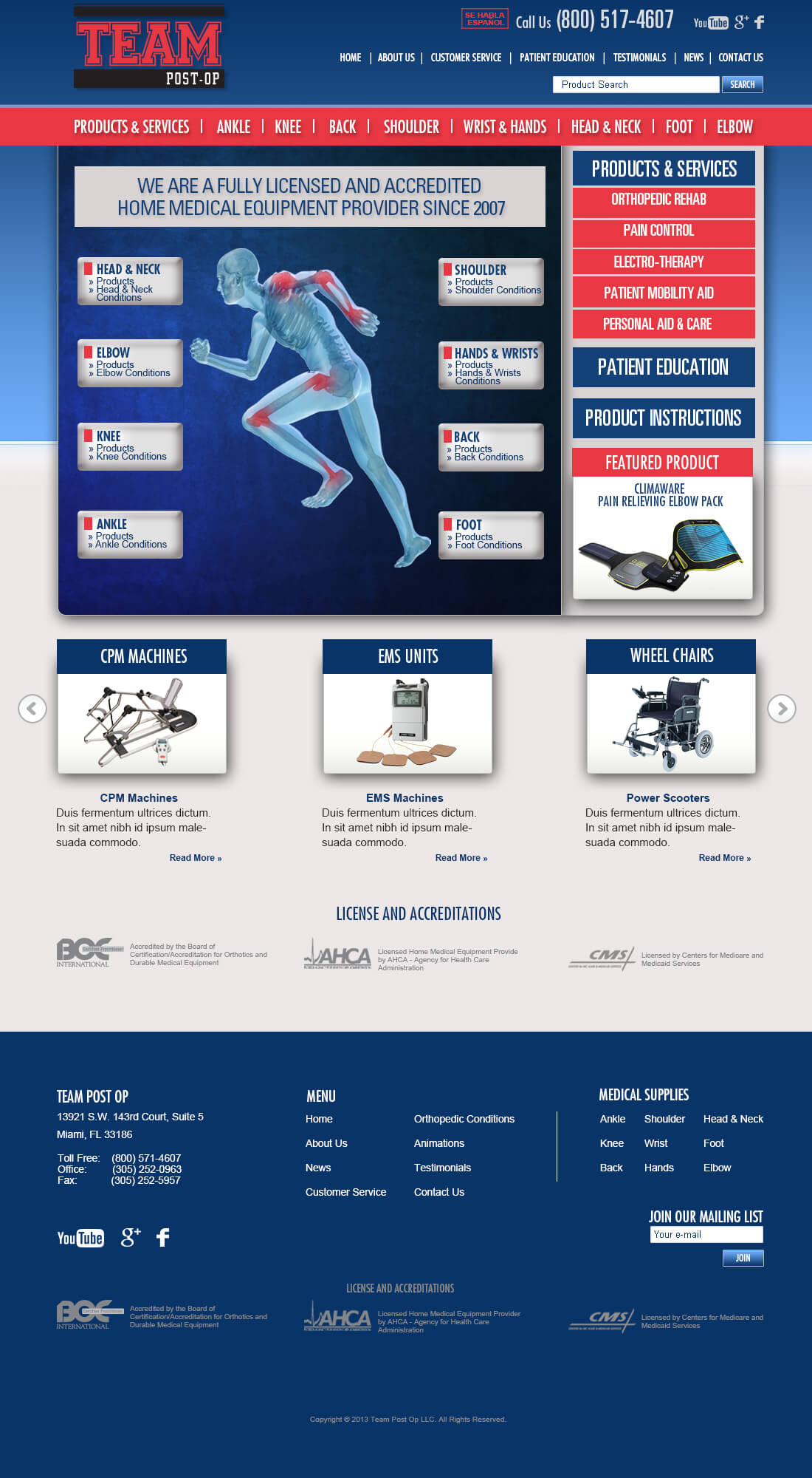 Medical-web-site-design-WordPress-Healthcare-Miami