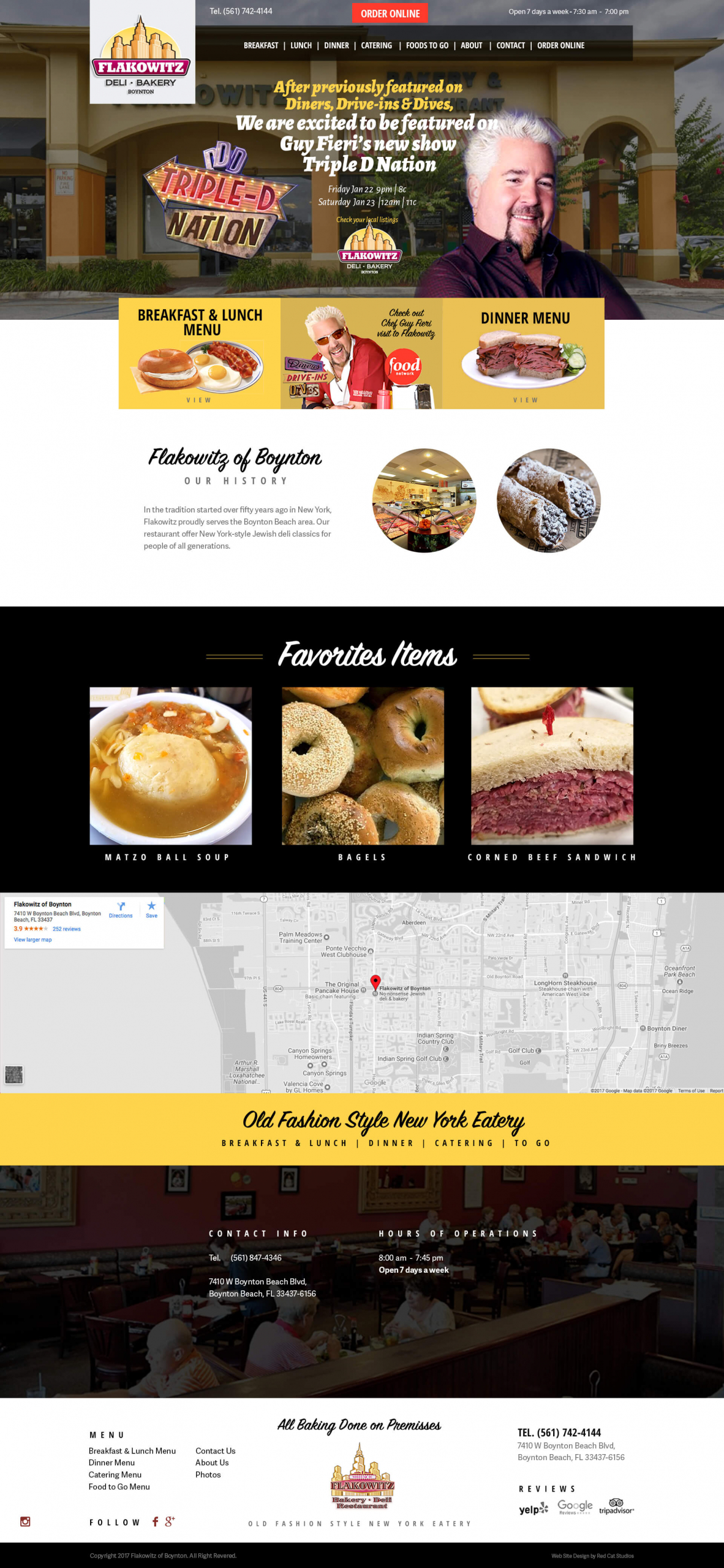 Restaurant Web Sites on WordPress