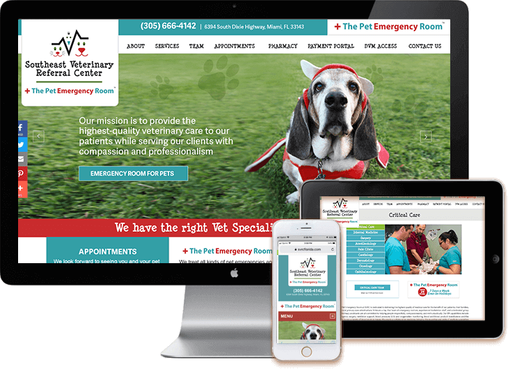 Vet WordPress web design