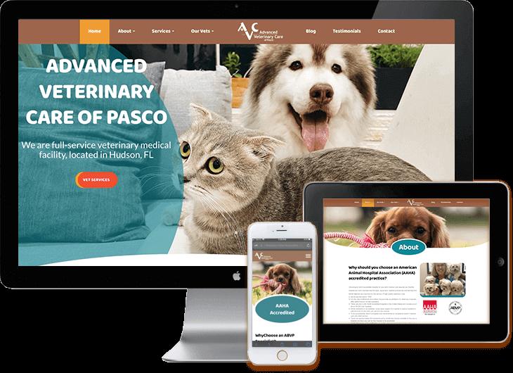 Veterinarian Web Design WordPress