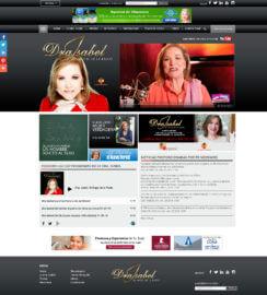 Miami WordPress Themes Dra Isabel Angel de la Radio