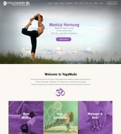WordPress Yoga Web Design