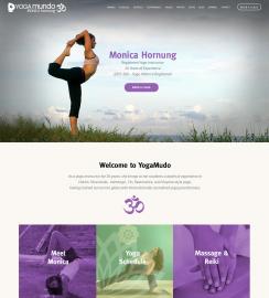 WordPress Yoga Web Design