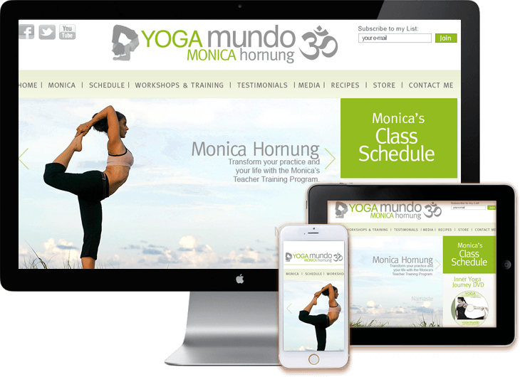 WordPress-yoga-web-design