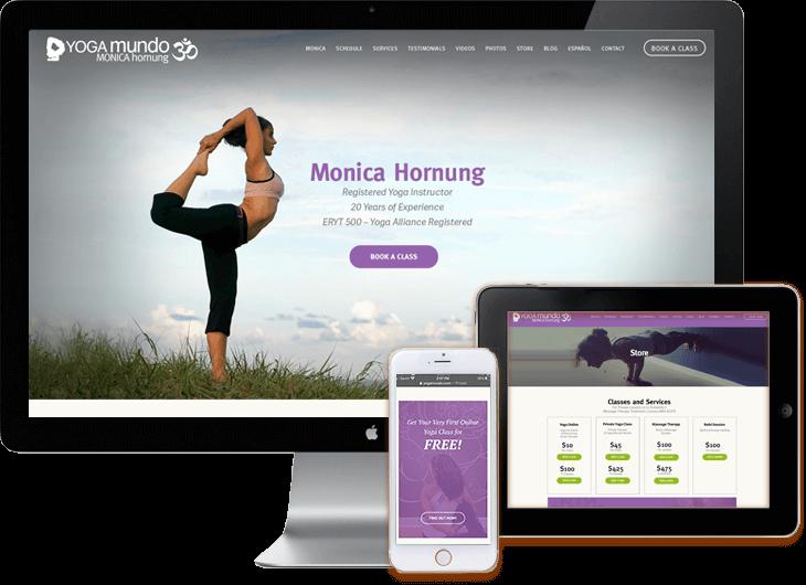 Yoga WordPress Web Development