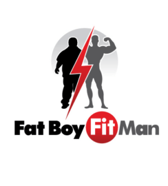Fitness Logo Design Gym Logos Custom Logo Design Eli Sapharti Fat Boy Fit Man