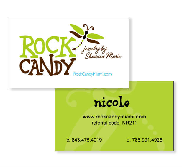 graphic design business cards miami