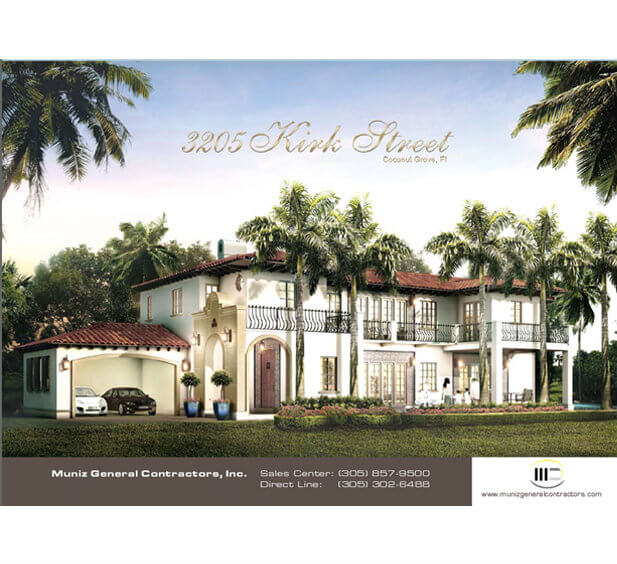 Real Estate & Construction Company Brochure Design Tri-Fold Brochure Design Z-Fold Brochure Design Bi-Fold Brochure Design Miami