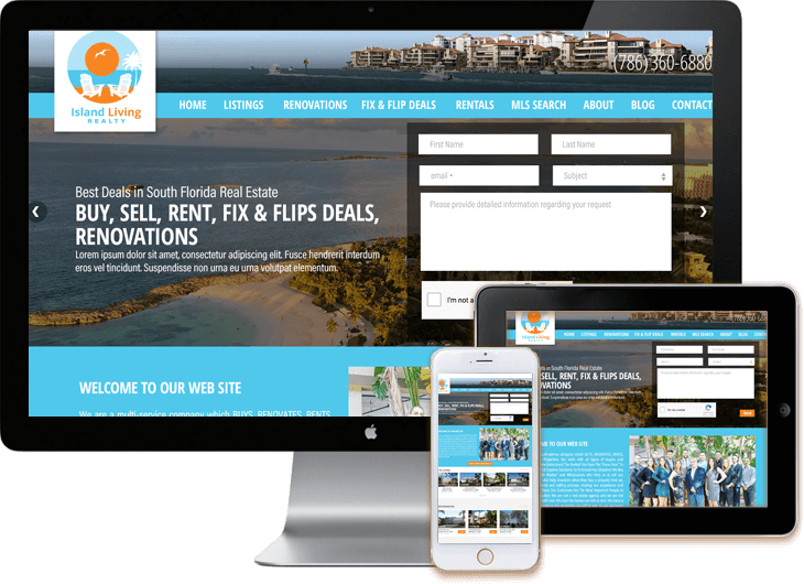IDX Broker web developer Miami