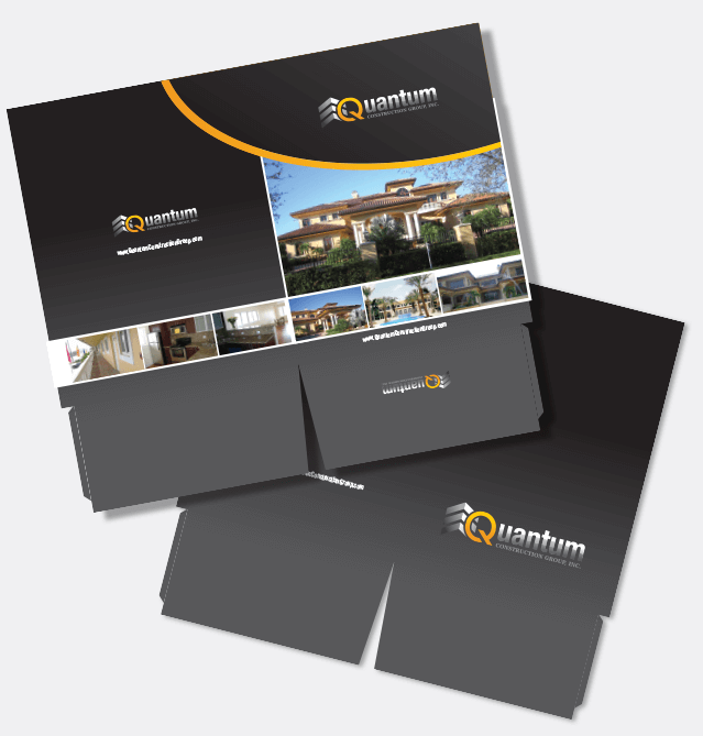 Pocket Folder Design Miami Custom Graphic Design Brochure Design