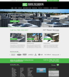 WordPress Web Sites Miami Responsive Web Site Design WP theme integration