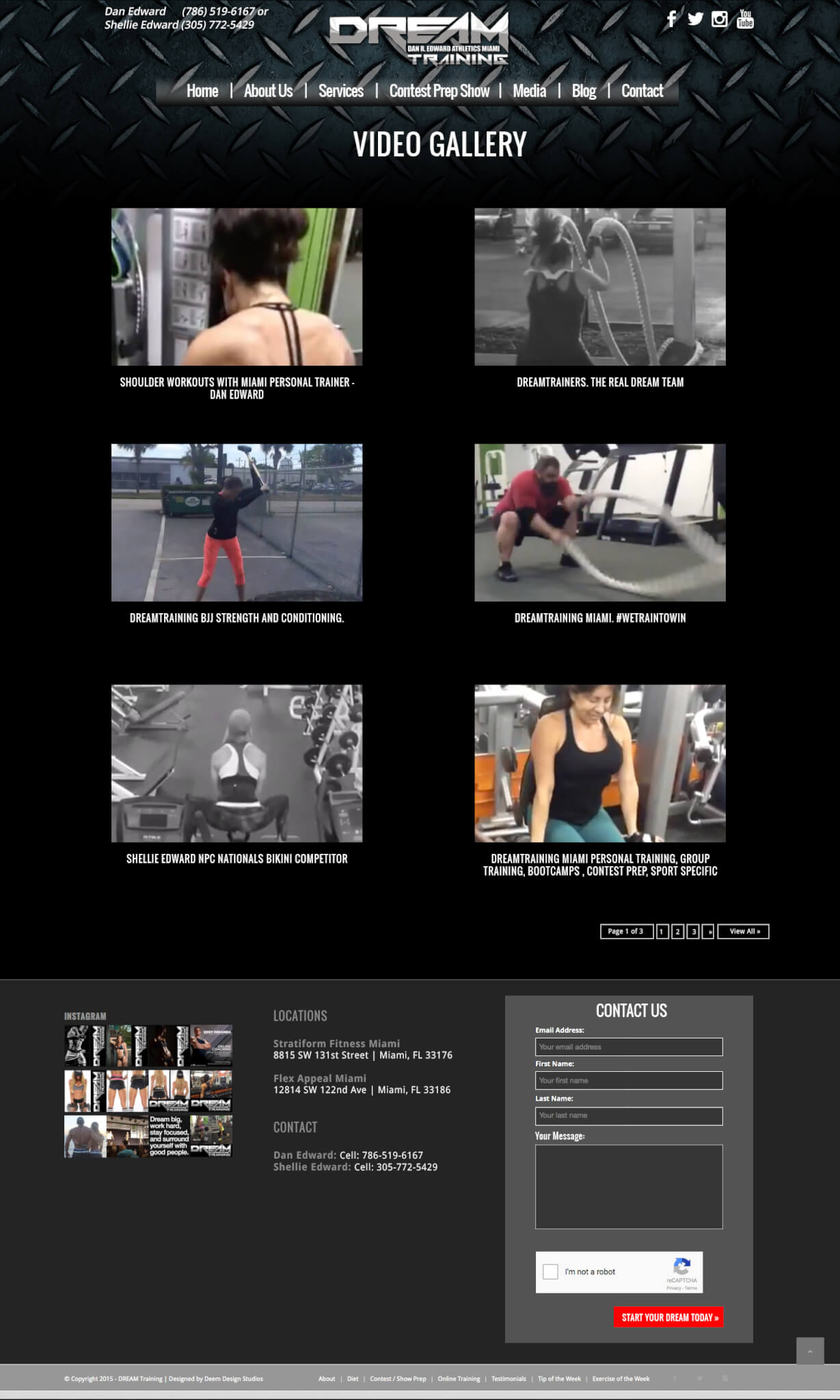 Personal Trainers WordPress web sites