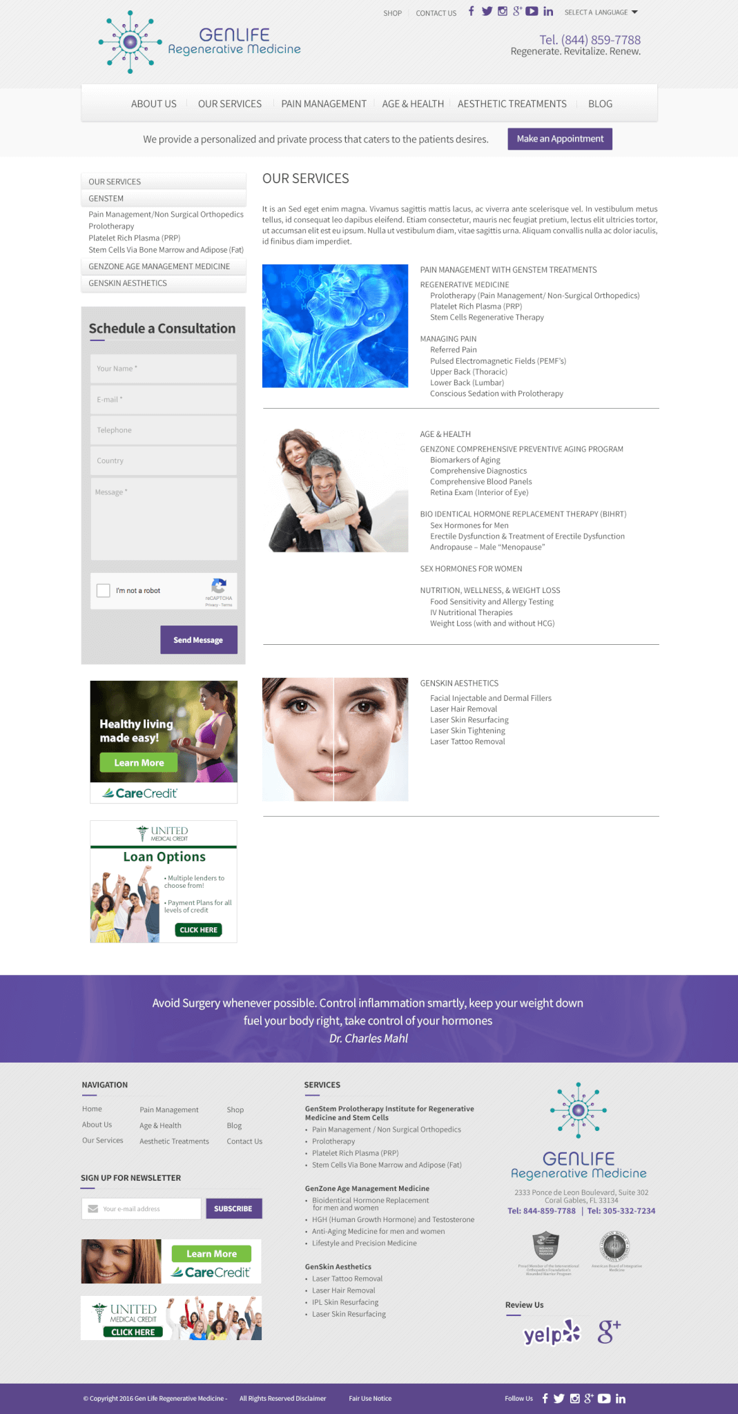 medical-web-design-wordpress