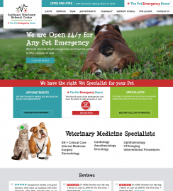Veterinarian Web Design Miami WordPress