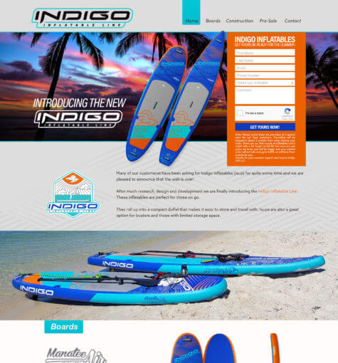 Indigo SUP Inflatables