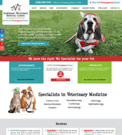 Veterinarian WordPress web design
