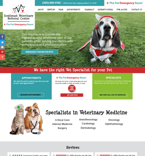 SVRC & Pet Emergency Room
