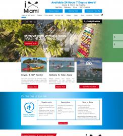 Touring Company Web Design