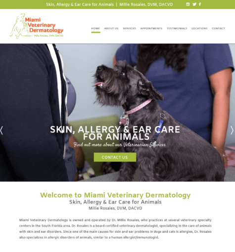 Miami Veterinary Dermatology