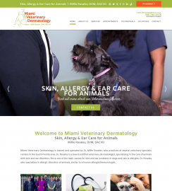 Veterinary Web Design Miami