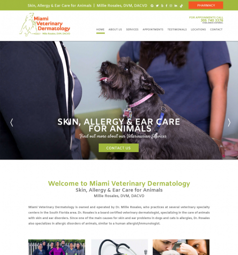 Miami Veterinary Dermatology