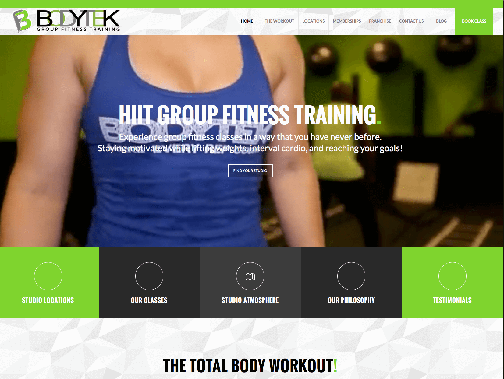 WordPress Gym web sites MIami