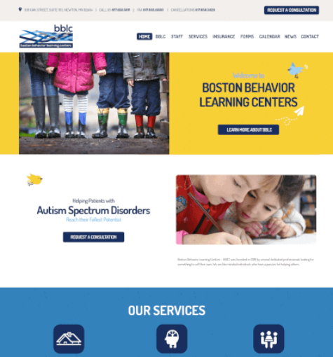 Boston Behavior Learning Centers – BBLC