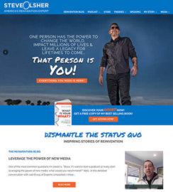 Steve Olsher WordPress Design