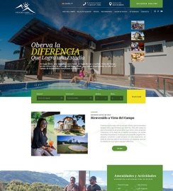 Hotel WordPress web site design