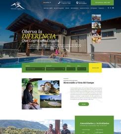 Hotel WordPress web site design