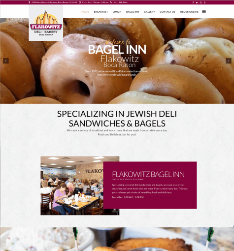 Flakowitz The Bagel Inn Boca Raton