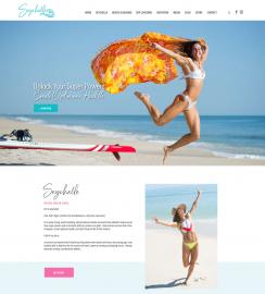 Fitness WordPress web sites Seychelle