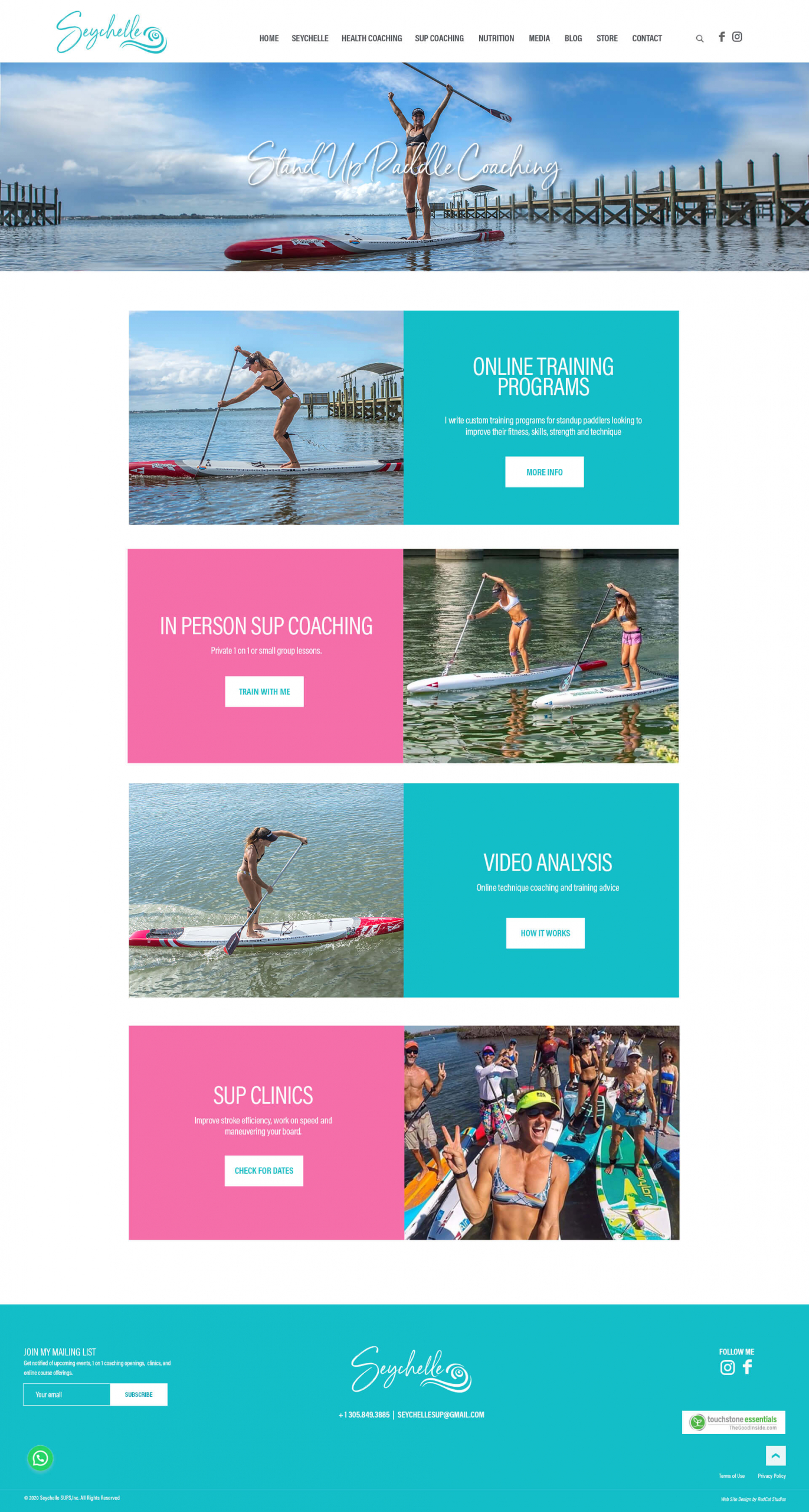 StandUp Paddle Web Sites WordPress