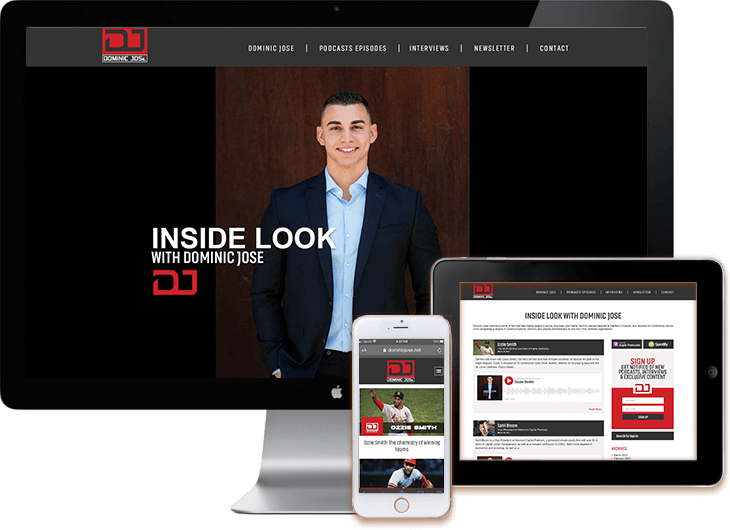 Pocaster WordPress Design