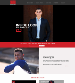 Podcaster Web Design WordPress