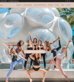 Yoga Web Design WordPress